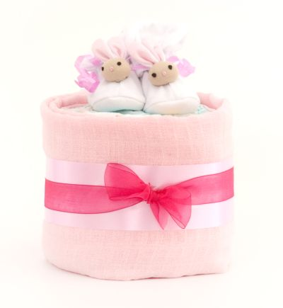 Baby Nappy Cake - Pink