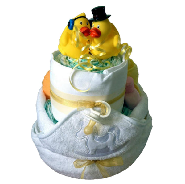 bath time nappy cake, unisex nappy cake, nappy cakes ireland, nappy cake baby gifts, baby nappy cakes, bathtime nappy cake, bath nappy cake, luxury nappy cake, baby gifts ireland, cool baby gift