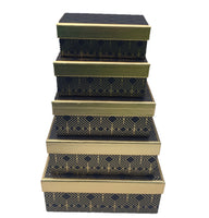 Gold & Black Sweet Treat Tower