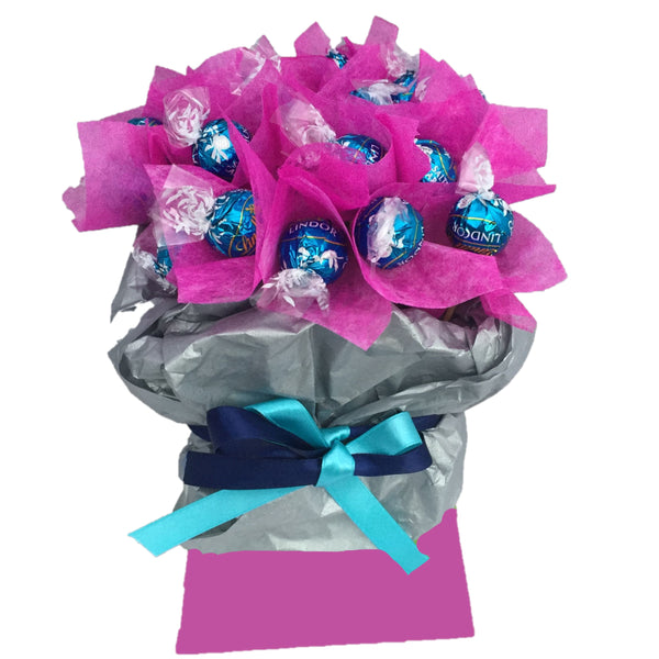 Lindt Salted Caramel Chocolate Bouquet, LIndor Salted Caramel Chocolate Bouquet, Valentines Day Lindt Bouquet, Fathers Day Lindt Bouquet,