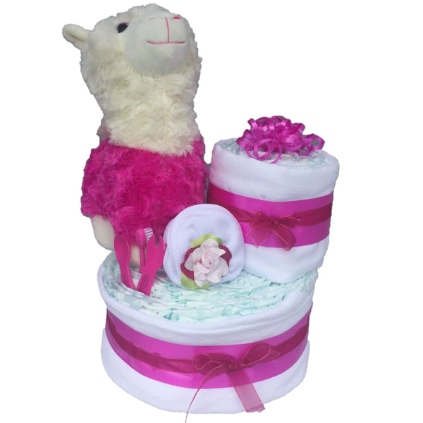 Lottie / Leon the Llama Nappy Cake