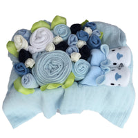 Box of Blooms - Midi Blue