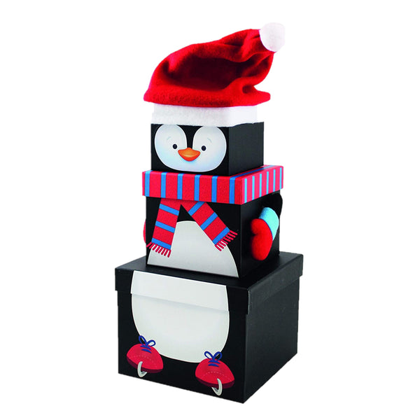 Penguin Sweet Treat Tower