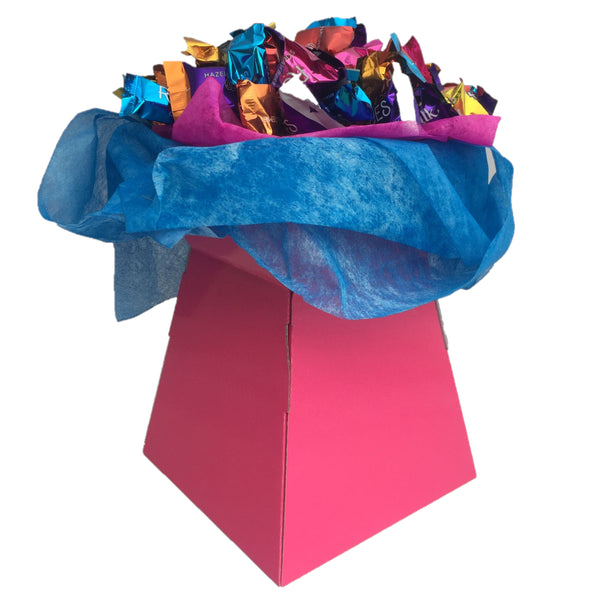 Cadburys Roses Chocolate Bouquet, Chocolate Bouquet Gifts, Chcolate Bouquets Ireland, Easter Chocolate Bouquet, Mothers Day Chocolate Bouquet, Fathers Day bouquet, New House Gift, Congratulations on your engagement