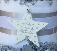 Twinkle Twinkle Little Star Nappy Cake