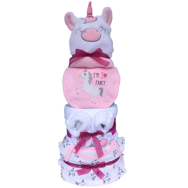 Magical Unicorn Nappy Cake