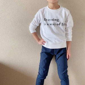 Dressing is a way of life スウェット ADORA00219-MLC-HAPPY002