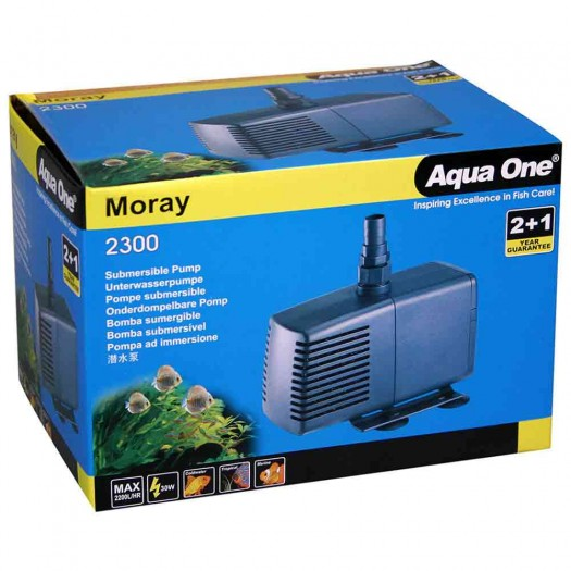 Aqua One Moray 2300 Water Pump 2200L/hr