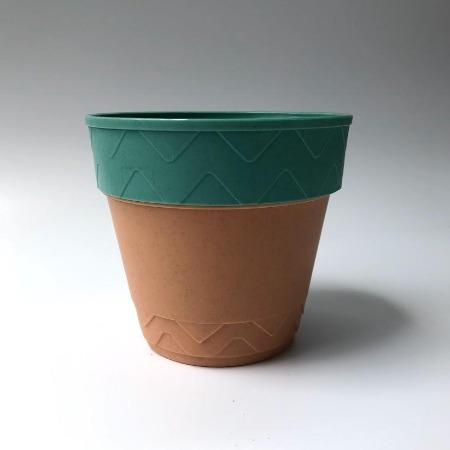 Teal Plastic Pot - Greenspace