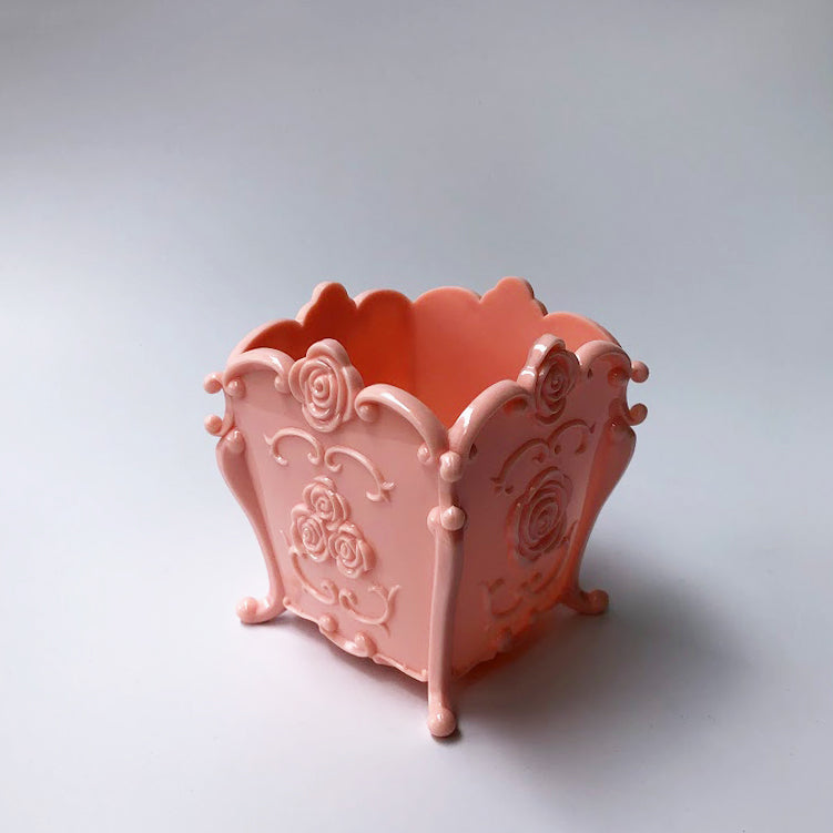 Rose Plastic Pot