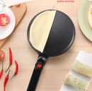 Electric Crepe Roll Maker( Buy Now Get Eggbeater and Plate as Gift)