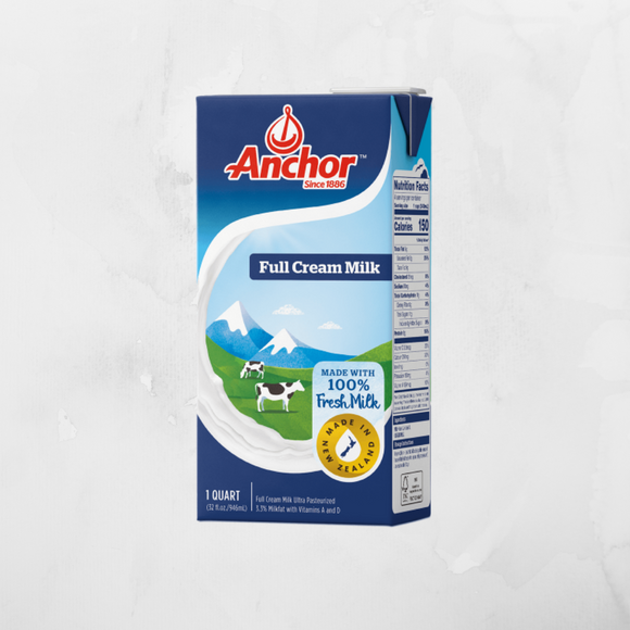 Anchor UHT Fresh Milk 1L