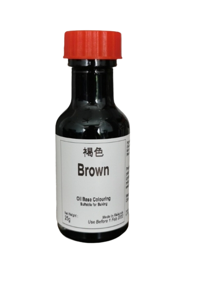 Brown Oil Base Colouring
