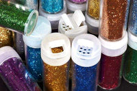 Colorful Glitter Powder Crafts Glitter 8 bottles Set