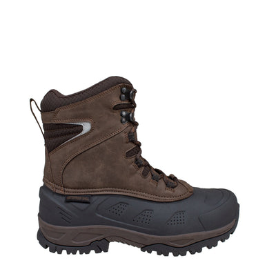 brown men's insulated winter boots