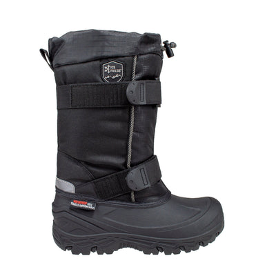 black tall insulated kids winter boots