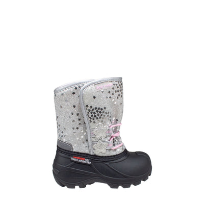 silver warm infants winter boots