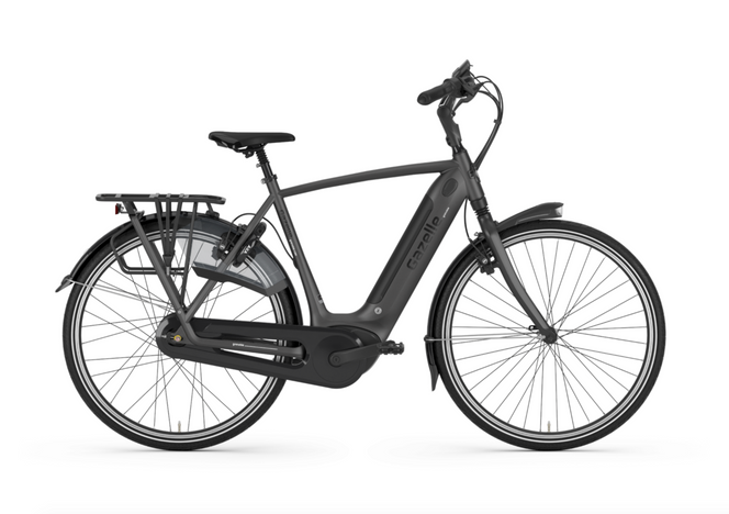 Gazelle E-Bike Grenoble C380 HMB Eclipse Black (matt)