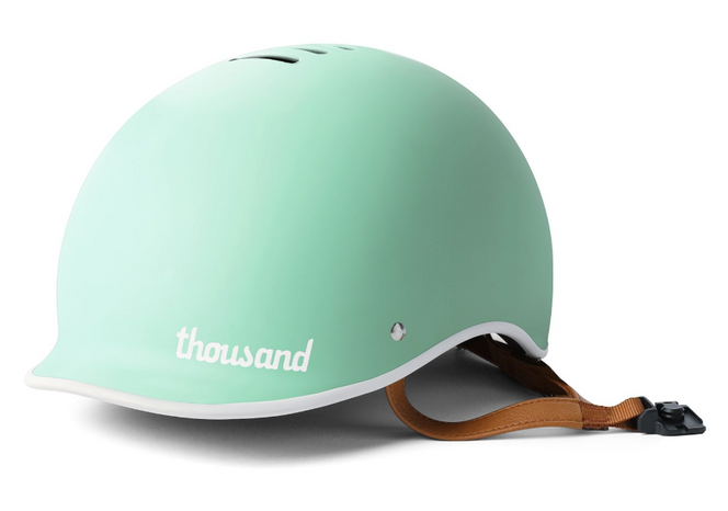 Thousand Fahrradhelm in Mint / Türkis