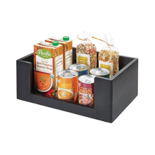 Load image into Gallery viewer, Large Open Front Bin - 10x15, Onyx