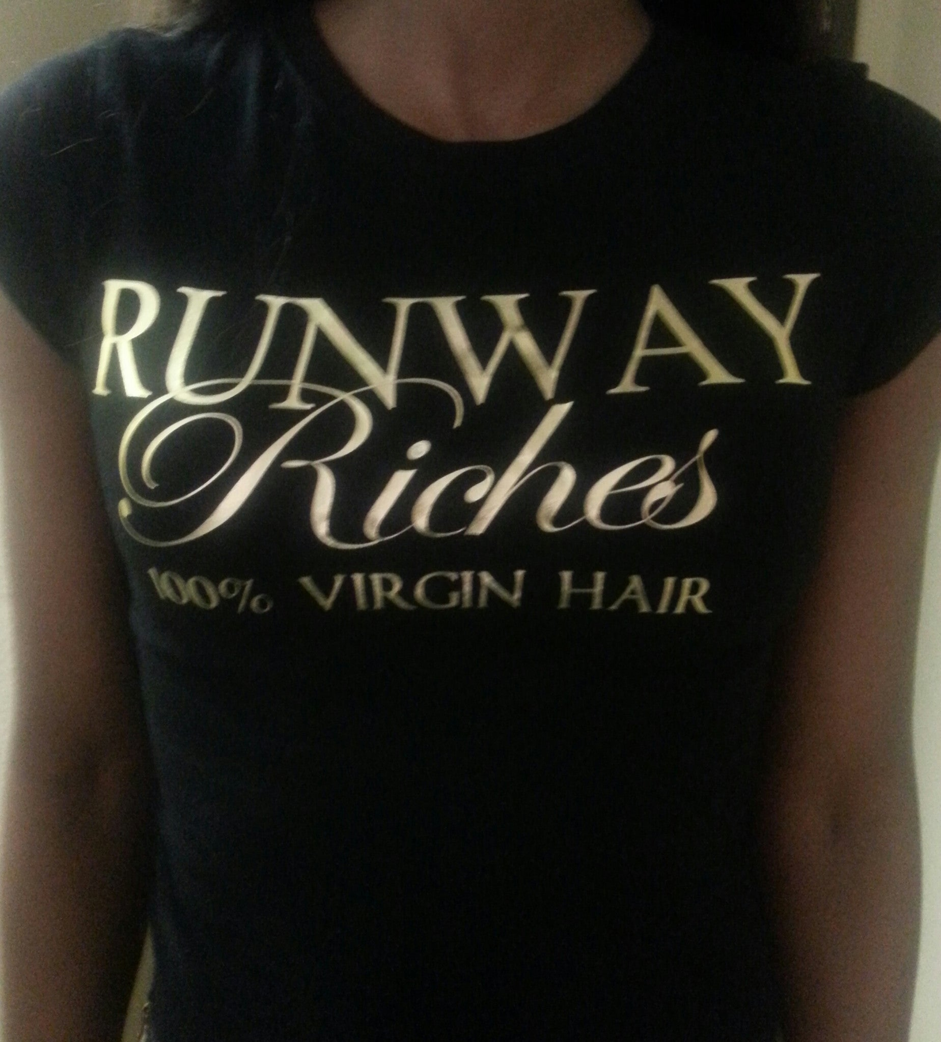 #SUPPORT #RunwayRiches Fitted Tee