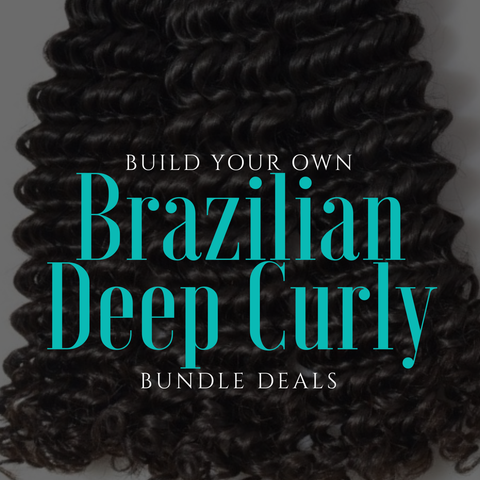 Brazilian Deep Curly Bundle Deals