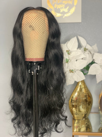 Custom Body Wave Lace Unit 180% Density