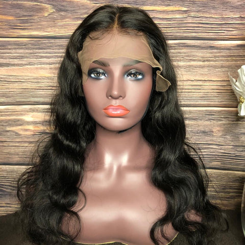 Custom Body Wave Lace Unit 150% Density
