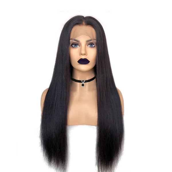 Natural Straight Lace Unit 150% Density