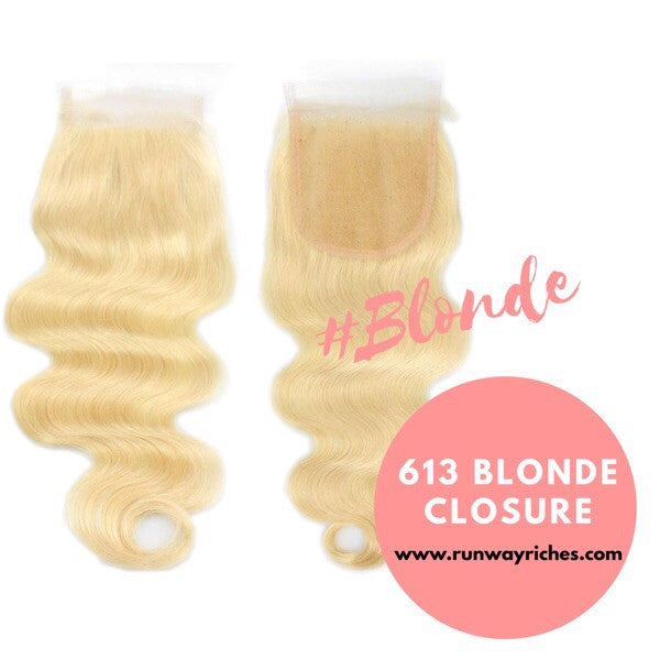 613 Blonde Closures