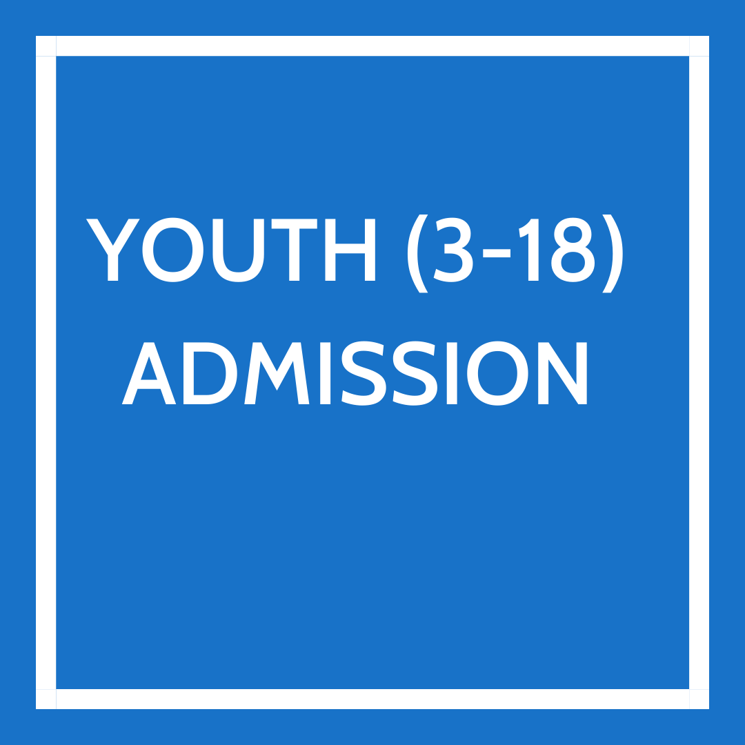 Youth Admission 3-18