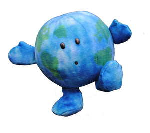 "Earth Celestial Buddy Plush - ""Little Earth""; "" Earthy""; Educational Space Station toy"