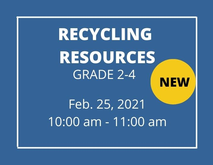 Recycling Resources  - Homeschool Program