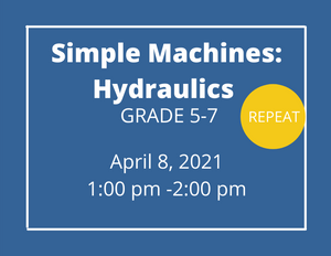 Simple Machines: Hydraulics grades 5-7- repeat