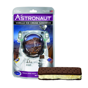 Astronaut Vanilla Ice Cream Sandwiches