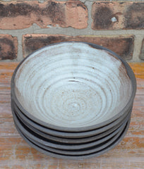 "7""x2"" Black StoneWare Bowl"