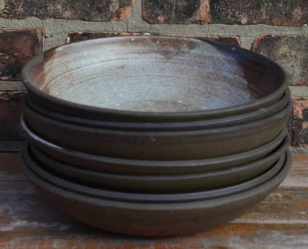 Brown Ocher Entree Bowl