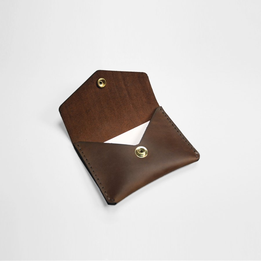 Single Snap Wallet - Boomer Brown