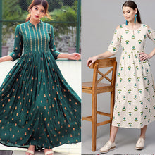 Load image into Gallery viewer, Pack Of 2 Rayon Kurtis