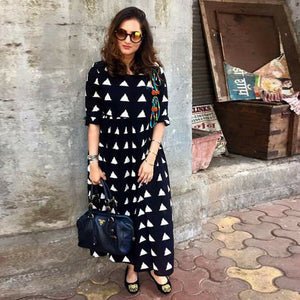 Pack Of 2 Fancy Rayon Kurtis