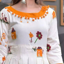 Load image into Gallery viewer, Heavy Rayon White Color Party Wear Kurti