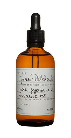 Liza Witte Green Patchouli Body Oil