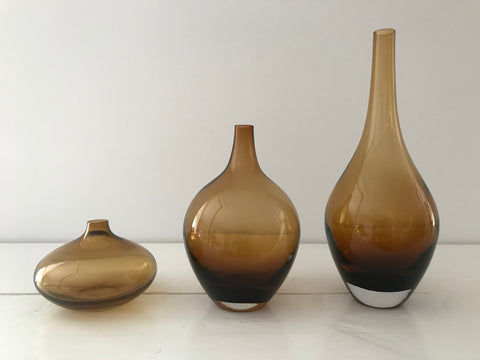Brown Vase Set