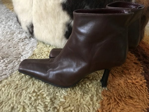 Ankle Brown 36