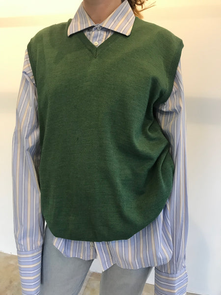 Green Wool Spencer XL