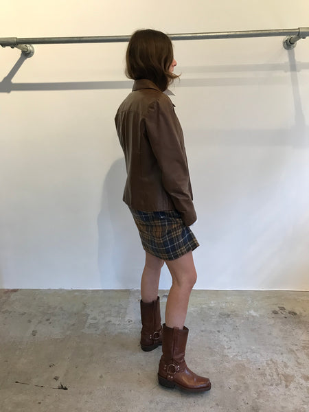 Brown Leather M