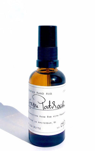 Liza Witte Hand Rub Green Patchouli