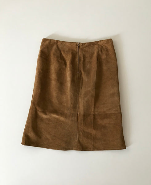 Suede Skirt 40