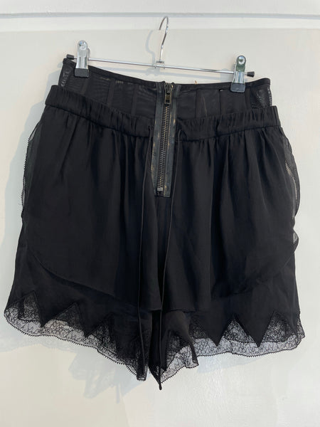 A Wang Silk Short 38