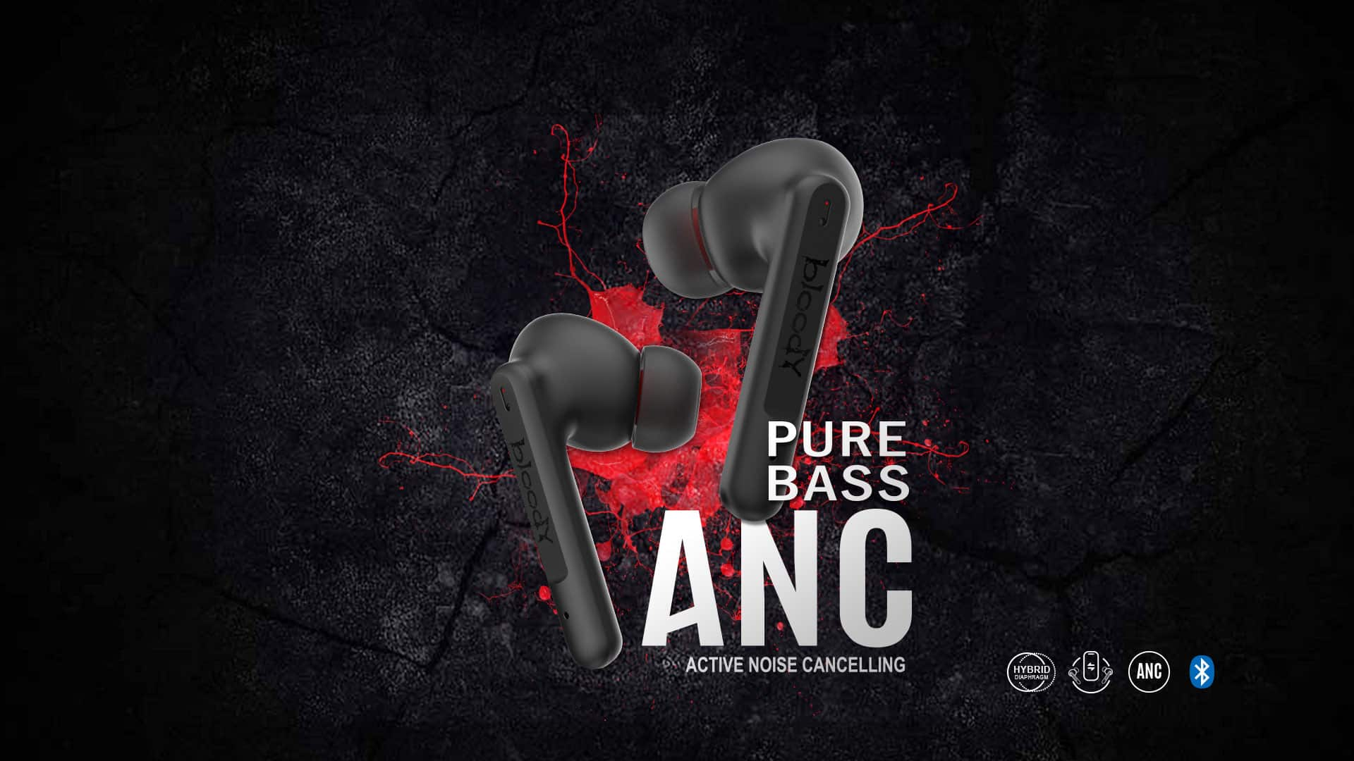 Bloody Gaming ANC earbuds